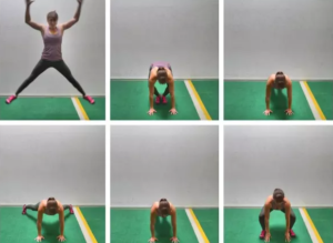 Jack Burpees are a great variation of the original jumping jack