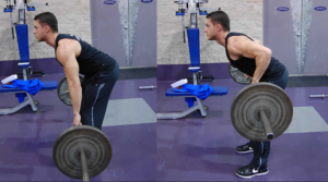 how to perform-a-barbell-row - fitness