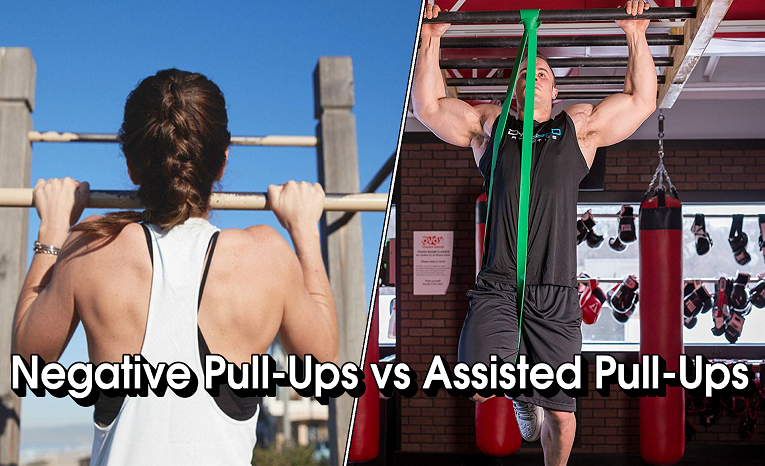 Negative Pull-Ups vs Assisted Pull-Ups
