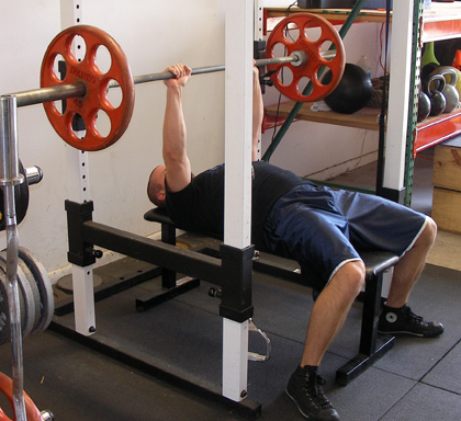 bouncing the weight should be avoided when performing the close grip bench press exercise routine