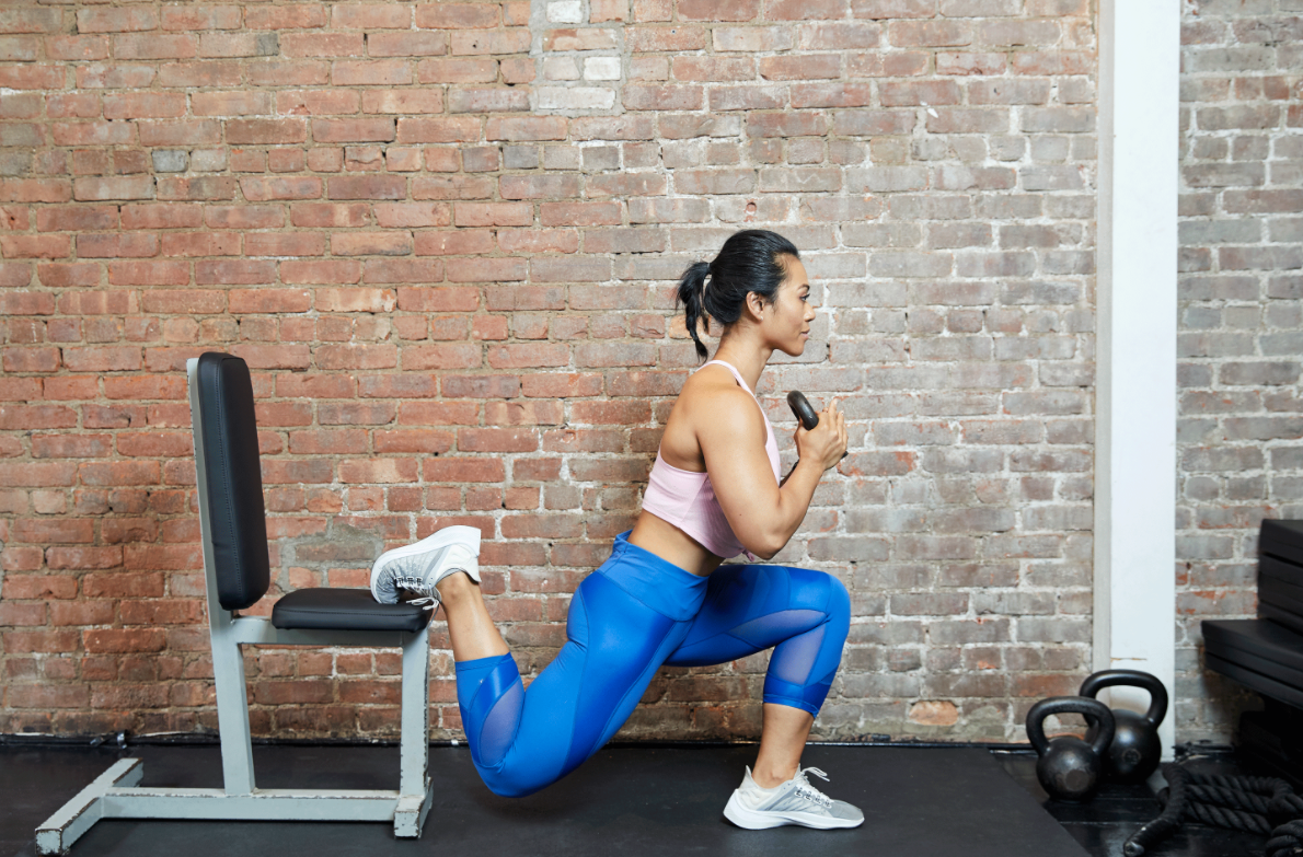 Bulgarian Split Squats can be a great alternative to step ups