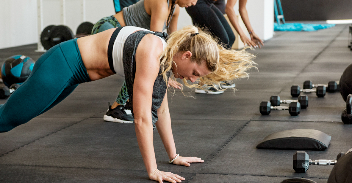 Burpees are great for building body strength and working a lot of muscle areas in your body