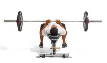 equipment required for the close grip bench press is a bencha nd the weights
