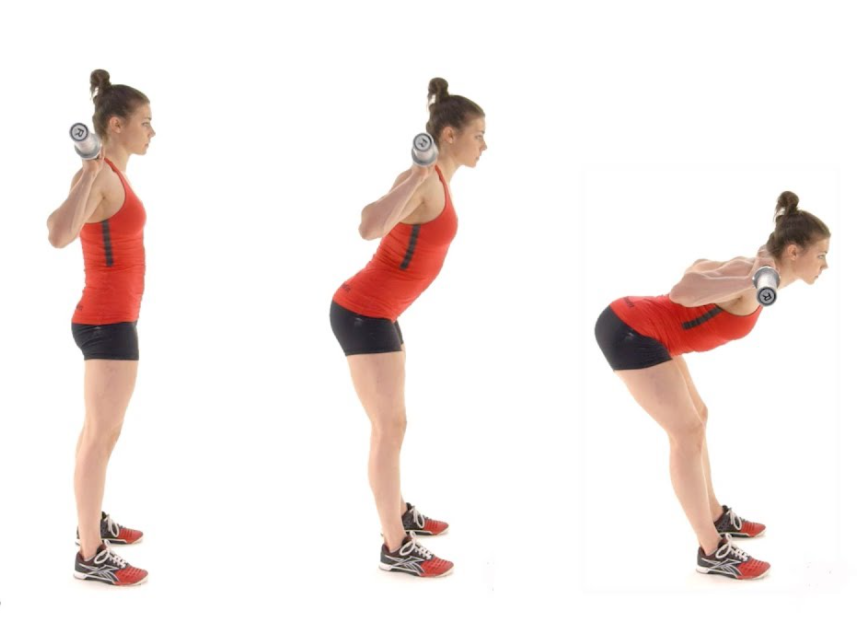 Good morning is perfect to fire up your lower body with less knee bendin