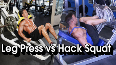 Leg Press vs Hack Squat