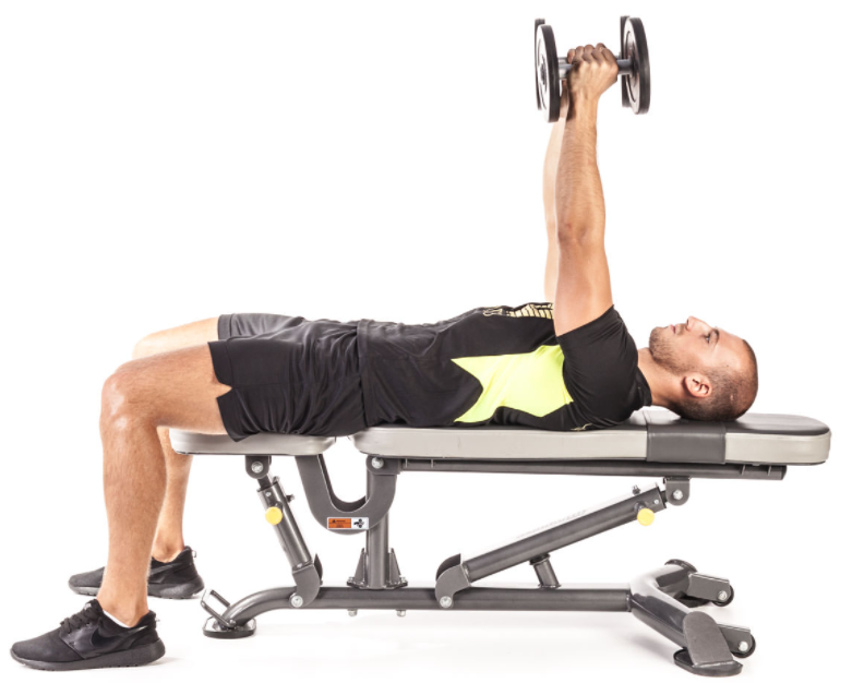 Ensure your elbows are placed well to reap the most of the exercise routine