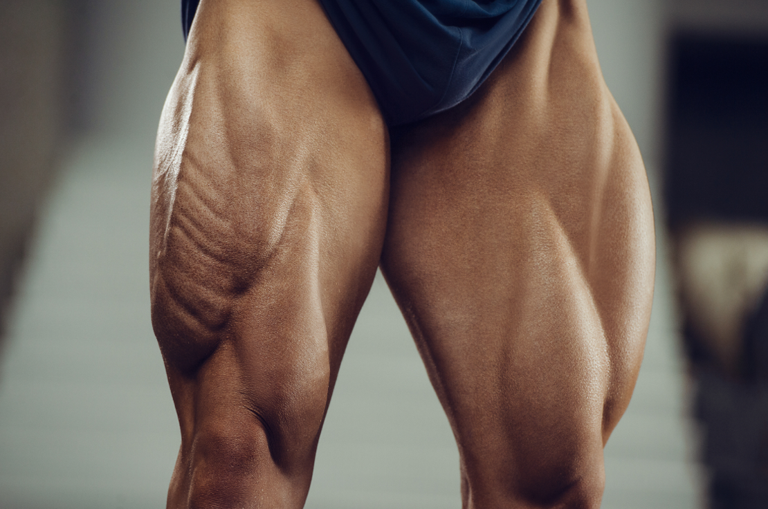 Quads are worked by the step up exercise