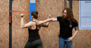 Resistance Band Face Pulls Instructions