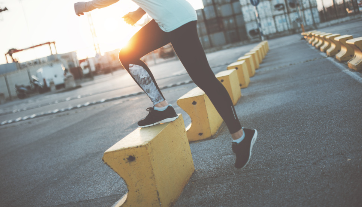 What is the step up exercise?