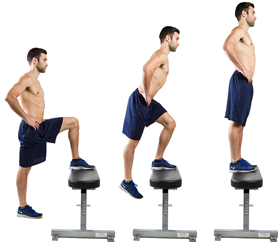 Step aerobics is a high-intensity cardio and does not exert much pressure on joints.