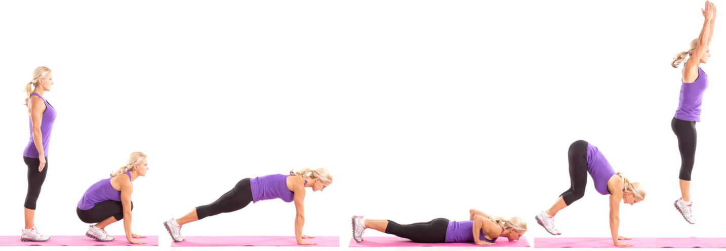 This is the proper way to do burpees