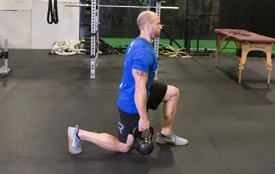 Walking Lunges are a great alternative to step ups
