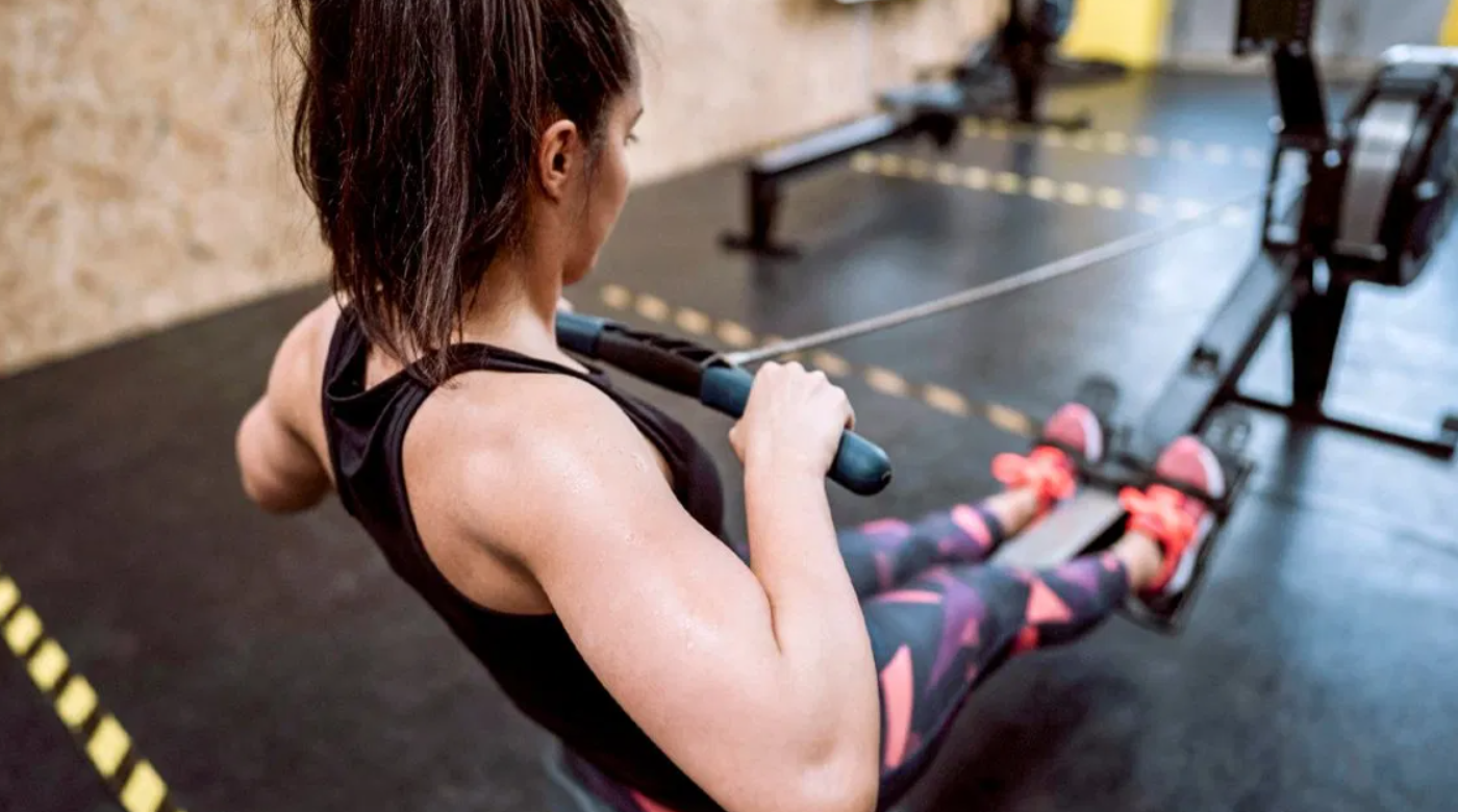 Seated row exercise is an excellent way to improve your Strength