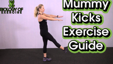 Mummy Kicks Exercise Guide